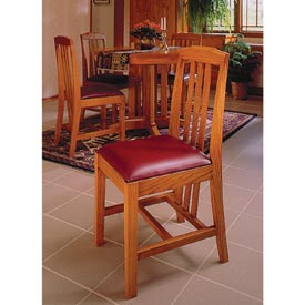 Arts and Crafts Dining Chairs Printed Plan