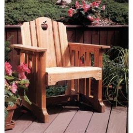 Patio Chair Printed Plan