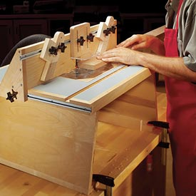 Benchtop Router Table Downloadable Plan