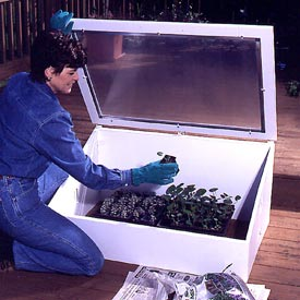 Cold Frame Woodworking Plan, Outdoor Gardening