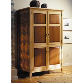 Armoire / TV Entertainment Center Printed Plan