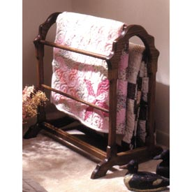 Country Classic Quilt Rack