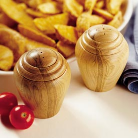 Turned Salt & Pepper Shakers Downloadable Plan