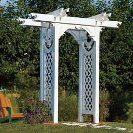 Trellised Arbor Downloadable Plan