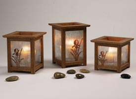 Arts & Crafts Candle Lanterns Printed Plan