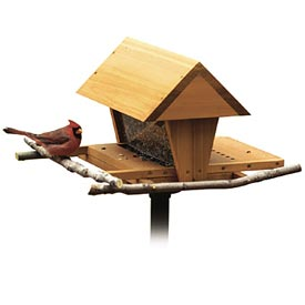 Snack Shop Bird Feeder Woodworking Plan, Outdoor For Birds & Pets