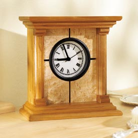 Architectural Clock Plan Woodworking Plan, Gifts & Decorations Clocks