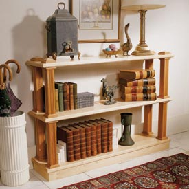 Strong-on-style shelf system Downloadable Plan