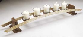 Candles on a Curve