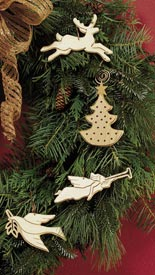 Scrollsawn tree trimmers Woodworking Plan, Holidays Gifts & Decorations Scrollsaw, Carving, & Decorative Projects