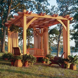 Build-to-Suit Pergola Printed Plan