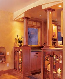 Divide and conquer with style Woodworking Plan, Furniture Architectural Elements