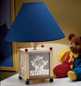 Storybook lamp Woodworking Plan, Gifts & Decorations Lighting
