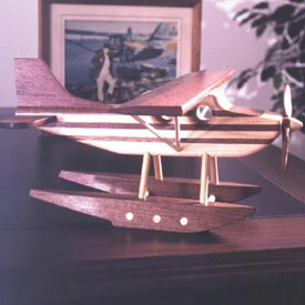 Toy floatplane Downloadable Plan