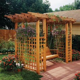 Garden Arbor Getaway Downloadable Plan