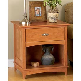 Entertainment center end tables