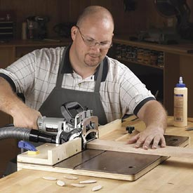 Accurate-Alignment biscuit-Joiner Jig Downloadable Plan