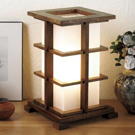 Warm-glow accent lamp Woodworking Plan, Gifts & Decorations Lighting