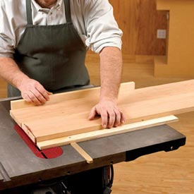 Straight-Tracking Crosscut Sled Downloadable Plan