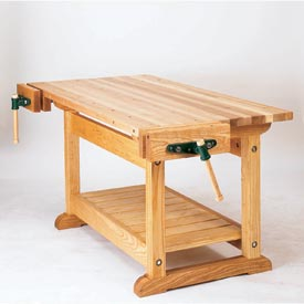 Traditional Workbench Woodworking Plan, Workshop & Jigs Workbenches