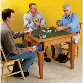 Game Table Printed Plan