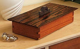 Tabletop Treasure Box Downloadable Plan