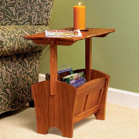 Magazine Rack/Table Downloadable Plan