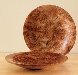Turned Platter Woodworking Plan, Turning Projects Gifts & Decorations Kitchen Accessories