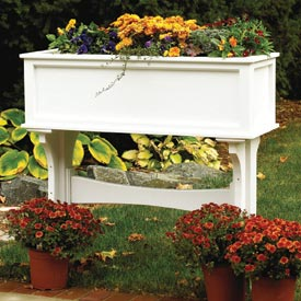 Freestanding Planter Box Woodworking Plan, Outdoor Planters