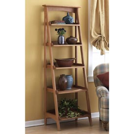 Shelves with a fresh slant Downloadable Plan