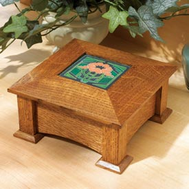 Tile-Topped Keepsake Box Printed Plan