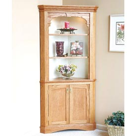 Heirloom Corner Cabinet Printed Plan