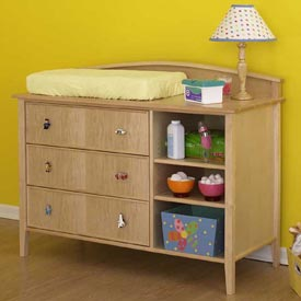 Double-duty changing table/dresser