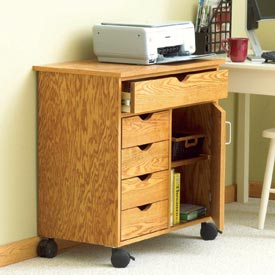 Home/Shop Storage Cart Downloadable Plan