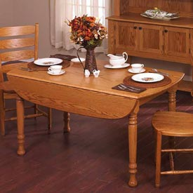 Drop-Leaf Table Downloadable Plan