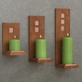 Wall Sconces Woodworking Plan, Gifts & Decorations Lighting