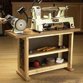 Basic-Built, Simple & Sturdy Tool Stand Downloadable Plan