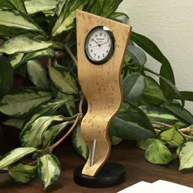Rippling Ribbon Clock Downloadable Plan