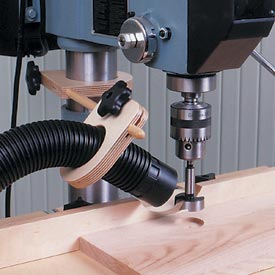 Drill Press Dust Collector Downloadable Plan