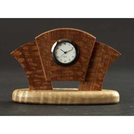 Art Deco Desk Clock Woodworking Plan, Gifts & Decorations Clocks