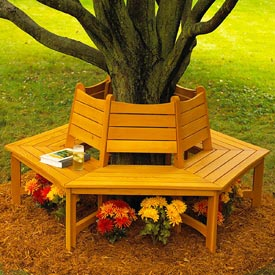 Made in the Shade Tree Bench Downloadable Plan