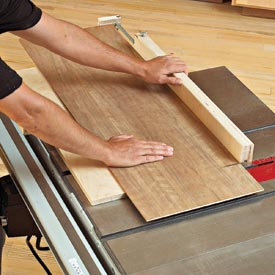 Panel-Cutting Sled Downloadable Plan