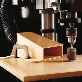 Drill-Press Dust Collector Downloadable Plan