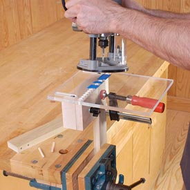 Multi-hole Doweling Jig Downloadable Plan
