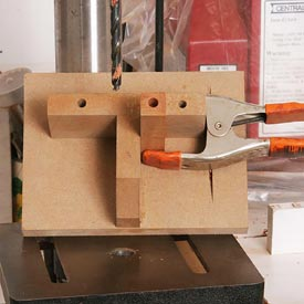 Pen-Blank Drilling Jig Downloadable Plan