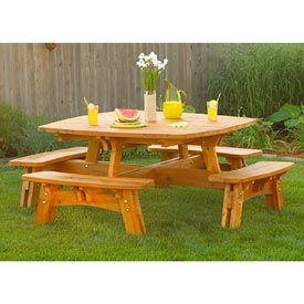 Fun-in-the-sun Picnic Table Printed Plan