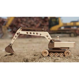 Construction-Grade Excavator