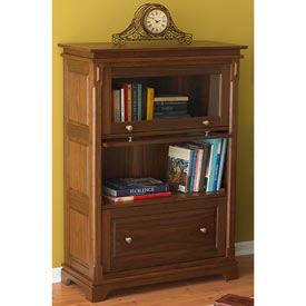 Barristers Bookcase Woodworking Plan, Furniture Bookcases & Shelving