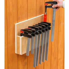 Easy-Store Clamp Rack Downloadable Plan