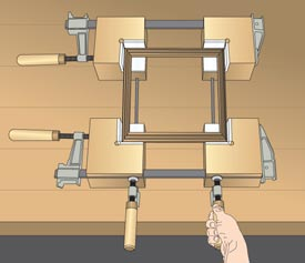 Corner Clamp Blocks Downloadable Plan